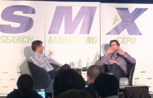 Stefan Weitz at SMX Advanced.