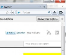 Firefox 7, which launched last week, now features a Twitter search feature in its toolbar.