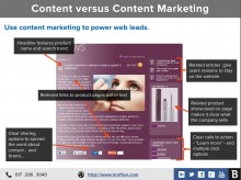 Content marketing across your website, email, Facebook, Google+ and more can fuel web traffic and leads, but 66 percent of marketers struggle to align content with a conversion funnel.