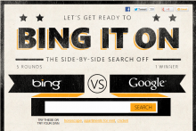 Bing It On is Bing's latest attempt to attract users from Google.