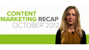 Looking for ideas on how to update your content marketing strategy? Insights on October's biggest industry developments can help you build winning campaigns.