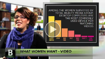 A new study shows that women embrace video content, even more than traditional media.