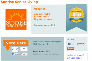 Sunrise Senior Living generates social buzz through its innovative online strategies, powered in part by Brafton.